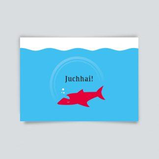 Maritime Postkarte. Juchhai