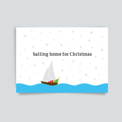 Sailing home for Christmas
