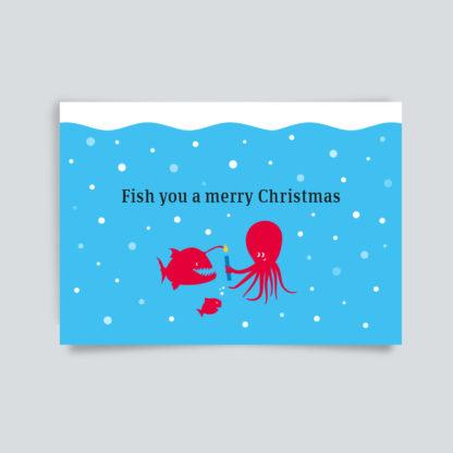 Weihnachtskarte_fishyouchristmas