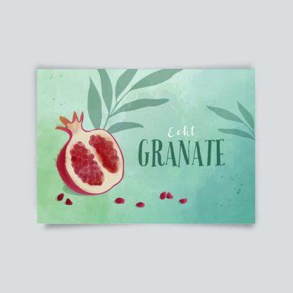 "Postkarte ""Echt Granate"" 1"