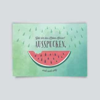 Postkarte * Leben Kerne