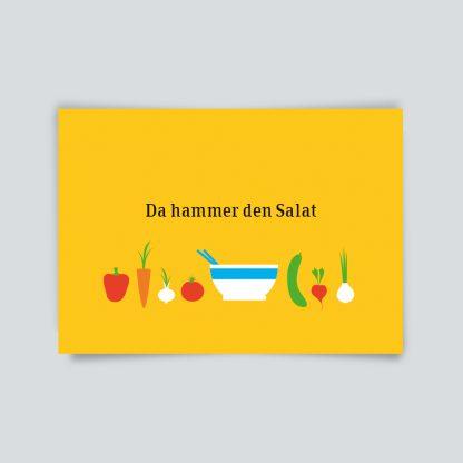 HalloHeimat * Da hammer den Salat