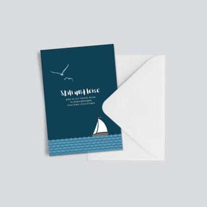 """Trauerkarte """"Still und leise"""" 1"""