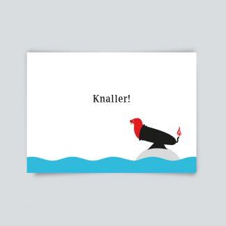 Knaller - Postkarte