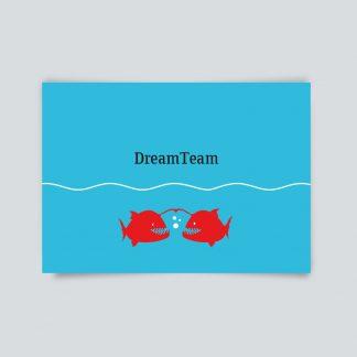 DreamTeam - Postkarte