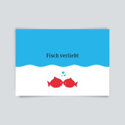 Fisch verliebt
