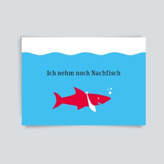 Ich nehm noch Nachfisch
