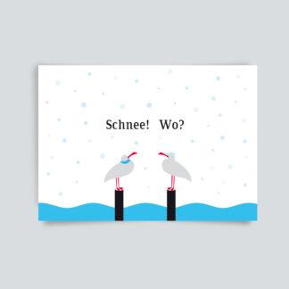 Schnee! Wo?