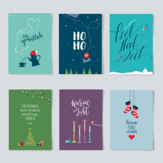 Postkartenpaket Weihnachten