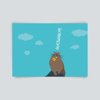 postkarte Glückwünsche