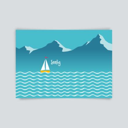 postkarte seelig
